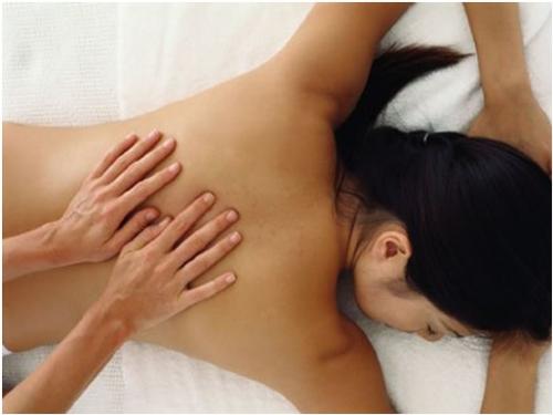 massagem dorsal